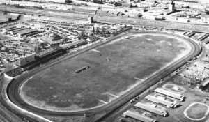 Playfair Racetrack Aerial 1950
